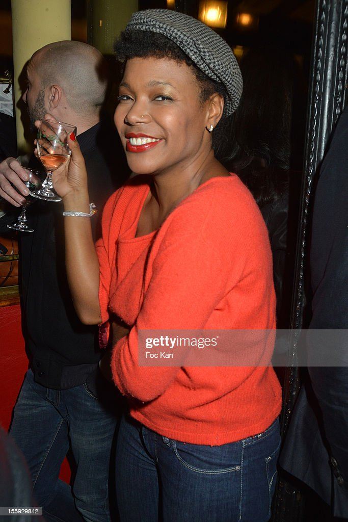 China Moses attends the 'Prix De Flore 2012' - Literary Award Ceremony Party at ,the Cafe de Flore on November 8, 2012 in Paris, France.