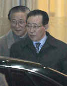 BEIJING China North Korean First Vice Foreign Minister Kim Kye Gwan arrives at Beijing international airport on the night of Oct 21 en route to...