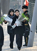 BEIJING China North Koreans visit the country's embassy in Beijing on Dec 19 after Pyongyang's announcement that leader Kim Jong Il has died