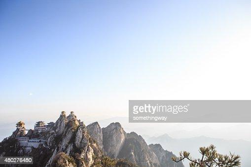 China Sacred Taoist laojun Mountain temples