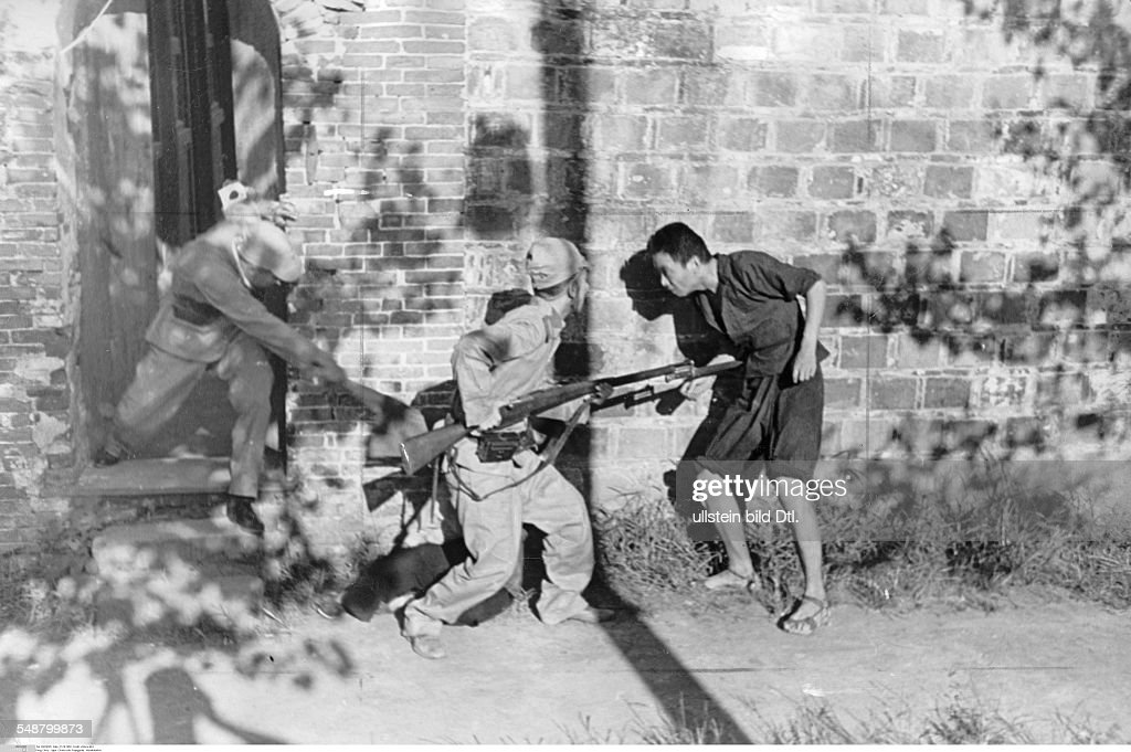 Second Sino-Japanese War 1937-1945 Performance of Japanese war ...