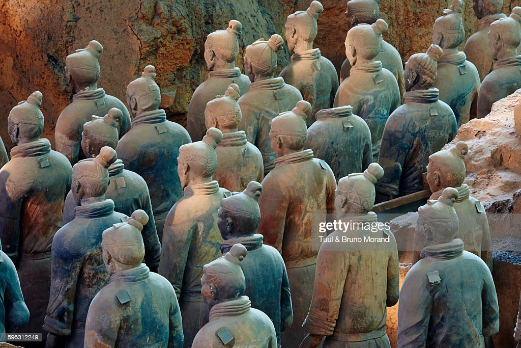 China, Shaanxi, Xian, Army of Terracotta Warriors