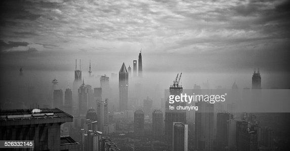 China, Shanghai, Cityscape