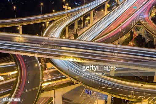 China, Shanghai, Intersection