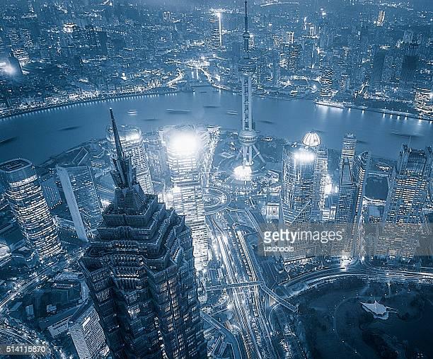 China Shanghai Wolkenkratzer