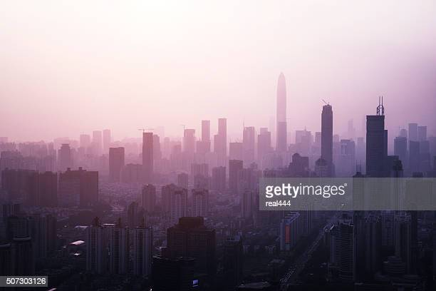 China, shenzhen rascacielos
