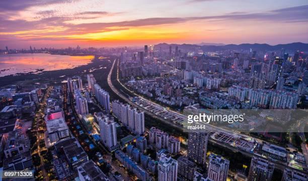 China shenzhen wolkenkrabber
