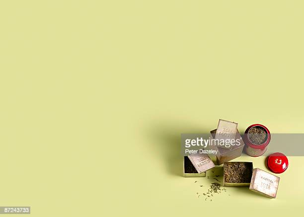 China Tea making leaves.