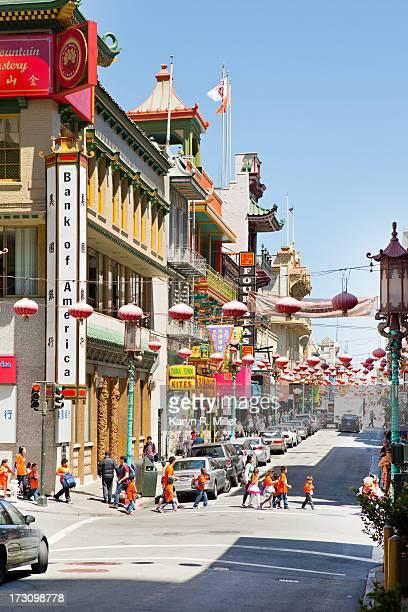 China Town Street Scene