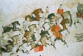 China Xian Interior Walls Of Tang Tombs
