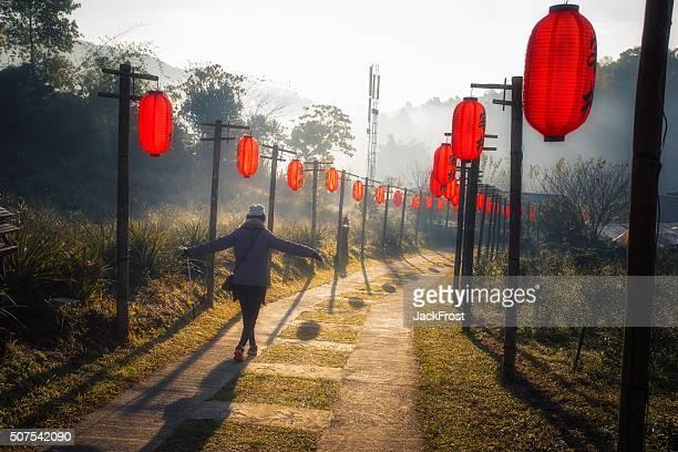 China Yunnan village