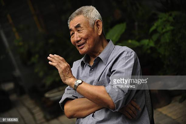 Chinapolitics60yearshistoryINTERVIEW by Dan Martin This photo taken on September 14 2009 shows 79yearold Geng Zhifeng speaking to AFP outside the...