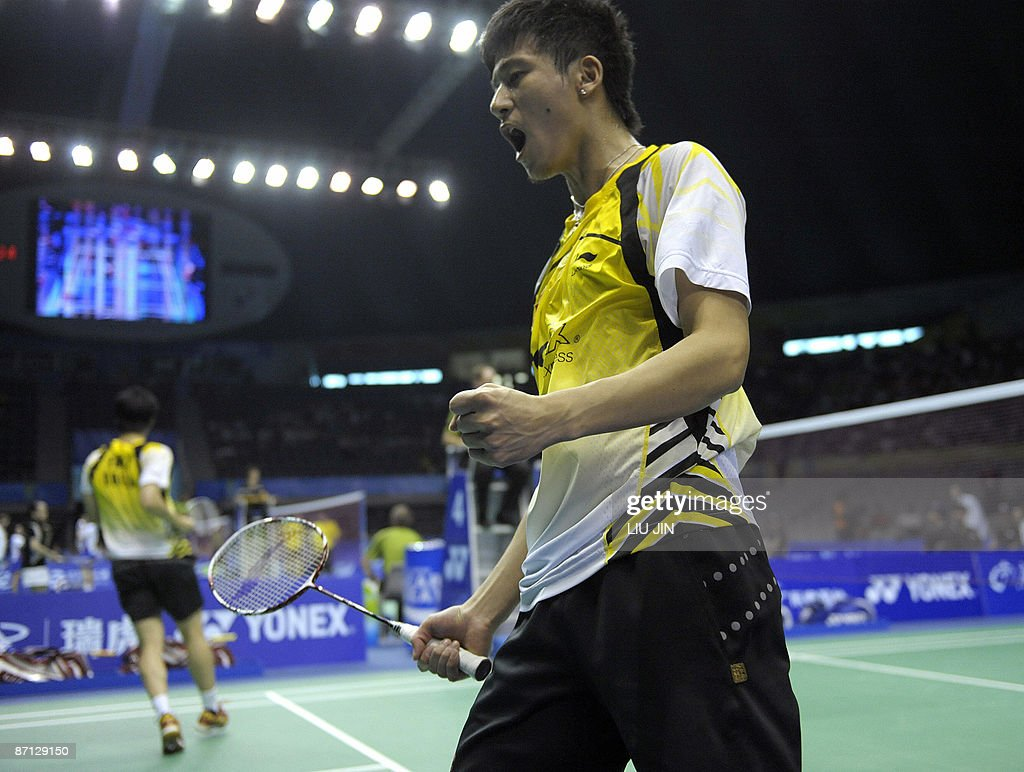 China s Cai Yun R on winning a point w