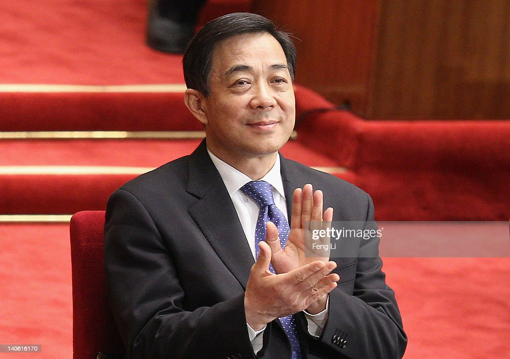 China's Chongqing Municipality Communist Party Secretary <a gi-track='captionPersonalityLinkClicked' href=/galleries/search?phrase=Bo+Xilai&family=editorial&specificpeople=225006 ng-click='$event.stopPropagation()'>Bo Xilai</a> attends the opening ceremony of the Chinese People's Political Consultative Conference at the Great Hall of the People on March 3, 2012 in Beijing, China. The Chinese People's Political Consultative Conference opens on March 3 in Beijing.