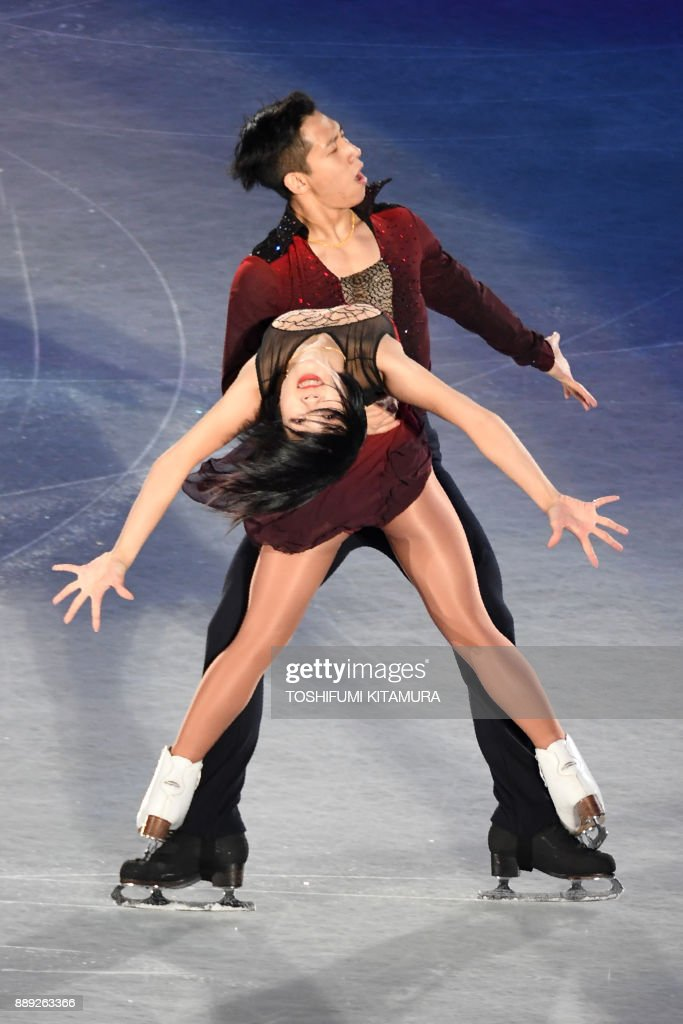 Вэньцзин Суй - Цун Хань / Wenjing SUI - Cong HAN CHN - Страница 12 Chinas-sui-wenjing-and-han-cong-perform-during-the-gala-exhibition-at-picture-id889263366