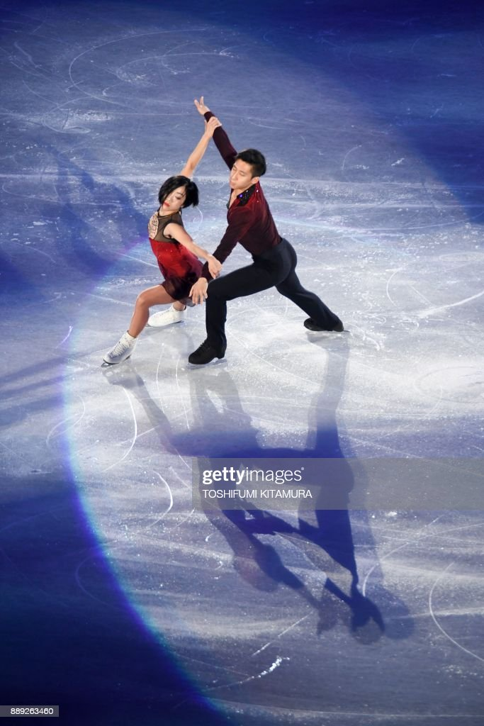 Вэньцзин Суй - Цун Хань / Wenjing SUI - Cong HAN CHN - Страница 12 Chinas-sui-wenjing-and-han-cong-perform-during-the-gala-exhibition-at-picture-id889263460