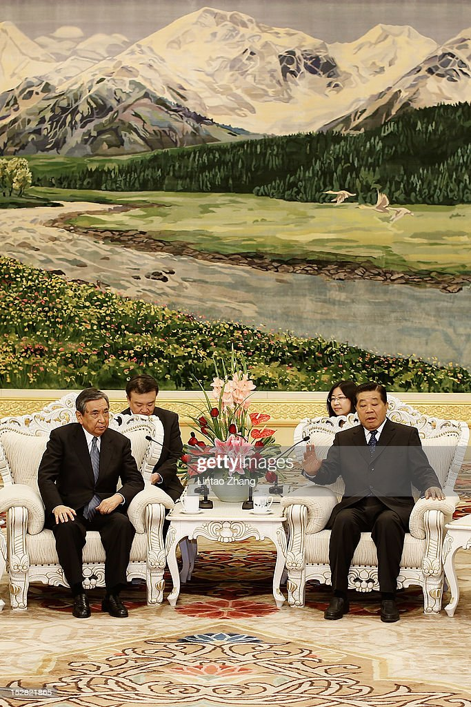 CPPCC Chairman Jia Qinglin Meets A Japanese Delegation