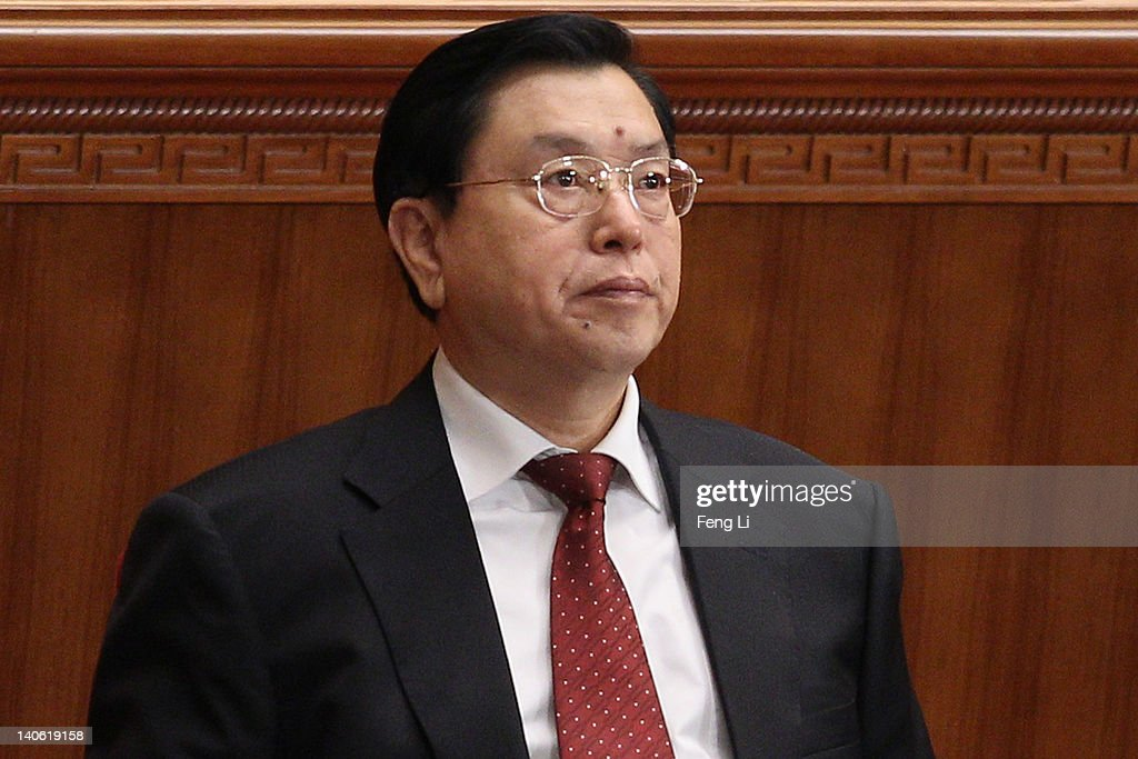 China's Vice Premier Zhang Dejiang attends the opening ceremony of the Chinese People's Political Consultative Conference at the Great Hall of the People on March 3, 2012 in Beijing, China. The Chinese People's Political Consultative Conference opens on March 3 in Beijing.