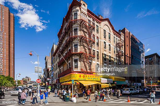 Chinatown, Bowery and Division street