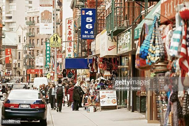 Chinatown, Bowery, New York City