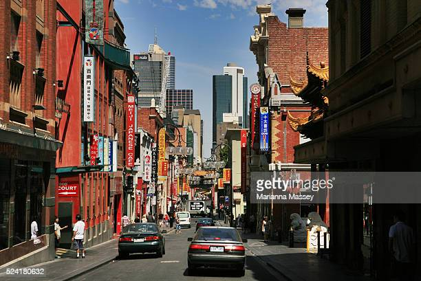 Chinatown in downtown Melbourne