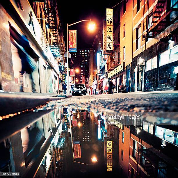 Chinatown reflection.