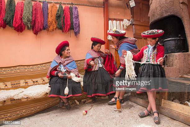 Chinchero, Peru weaving cooperative