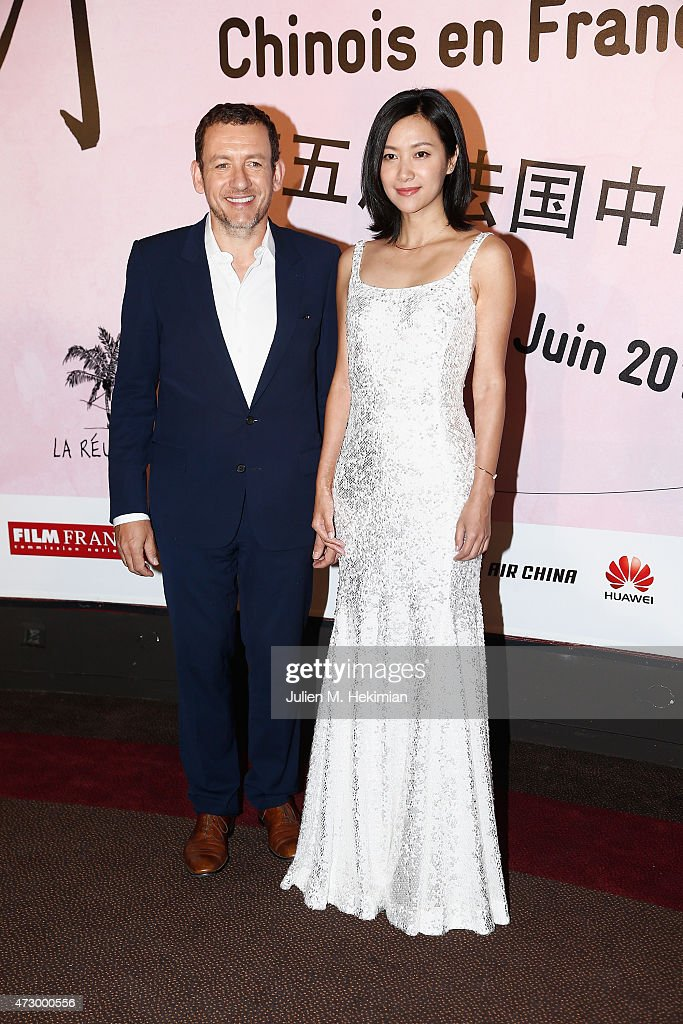 Chineese actress Xu Jinglei and Dany Boon attend the 5th Chinese Film Festival on May 11 2015 in Paris France