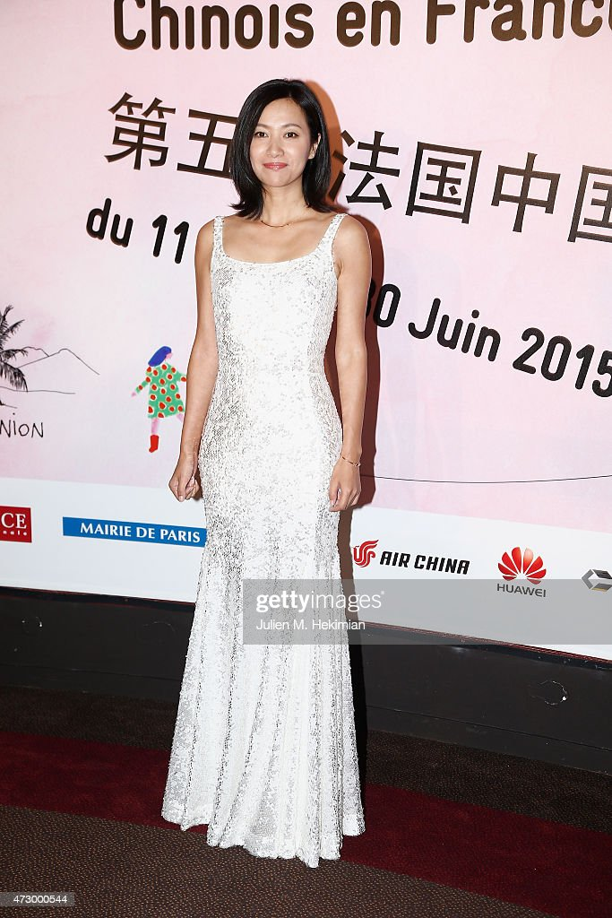 Chineese actress Xu Jinglei attends the 5th Chinese Film Festival on May 11 2015 in Paris France