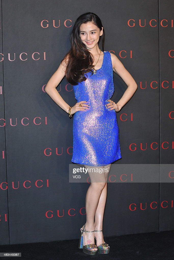 Gucci New Flagship Store Opening In Beijing
