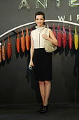 Chinese actress Li Bingbing attends Anteprima promotional event at Anteprima Wirebag store on September 1 2011 in Shanghai China