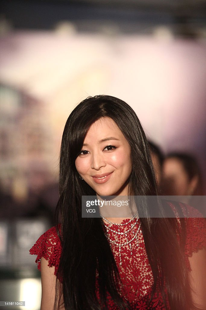 Chinese actress <a gi-track='captionPersonalityLinkClicked' href=/galleries/search?phrase=Zhang+Jingchu&family=editorial&specificpeople=242993 ng-click='$event.stopPropagation()'>Zhang Jingchu</a> poses at the red carpet during the 6th Asian Film Awards at Hong Kong Convention and Exhibition Center on March 19, 2012 in Hong Kong, Hong Kong.
