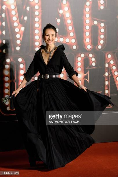 zhang ziyi red carpet 2017 - photo #7