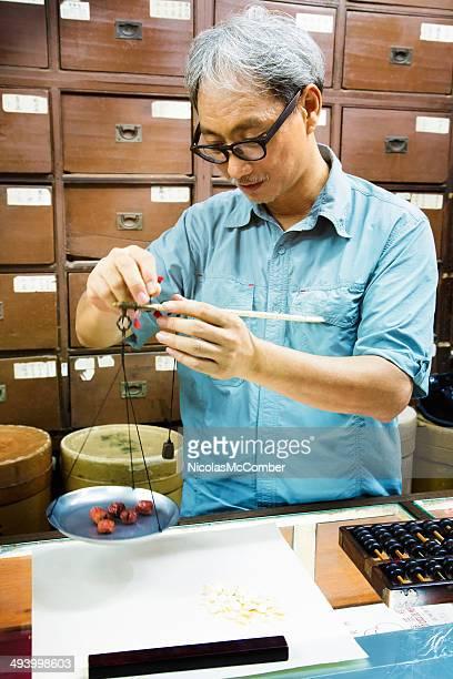 Pesant cerises séchées apothecarian chinois