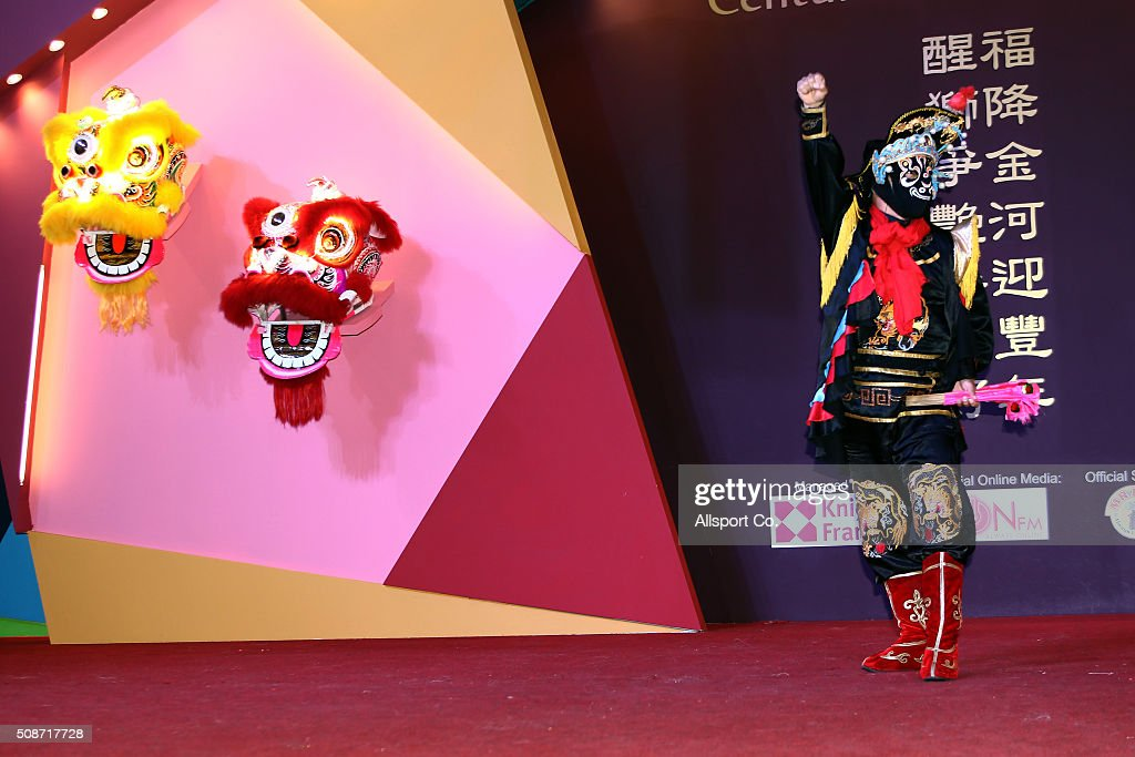 A Chinese artist dressed like a Monkey God performs in a shopping mall ahead of Lunar New Year of the monkey celebrations on February 6, 2016 in Kuala Lumpur, Malaysia. According to the Chinese Calendar, the Lunar New Year which falls on February 8 this year marks the Year of the Monkey, the Chinese Lunar New Year also known as the Spring Festival is celebrated from the first day of the first month of the lunar year and ends with Lantern Festival on the Fifteenth day.