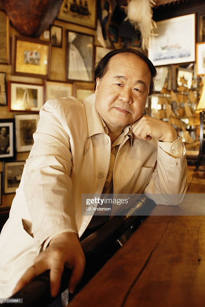 Chinese author Mo Yan poses while at the Saint Malo Book Fair in Saint Malo, France on the 4th of June 2006.
