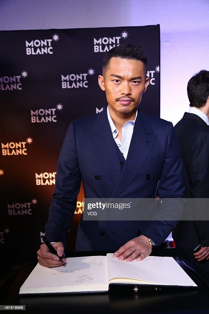Chinese badminton player <a gi-track='captionPersonalityLinkClicked' href=/galleries/search?phrase=Lin+Dan&family=editorial&specificpeople=211013 ng-click='$event.stopPropagation()'>Lin Dan</a> attends the 25th Salon International de la Haute Horlogerie (SIHH) on January 19, 2015 in Geneva, Switzerland.