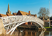 Chinese Bridge at Godmanchester, Cambridgeshire