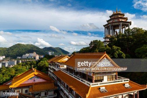 Chinese Buddhist temple Kek Lok Si : Stock Photo
