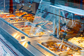 Eat as much as you like Chinese buffet restaurant in London Chinatown