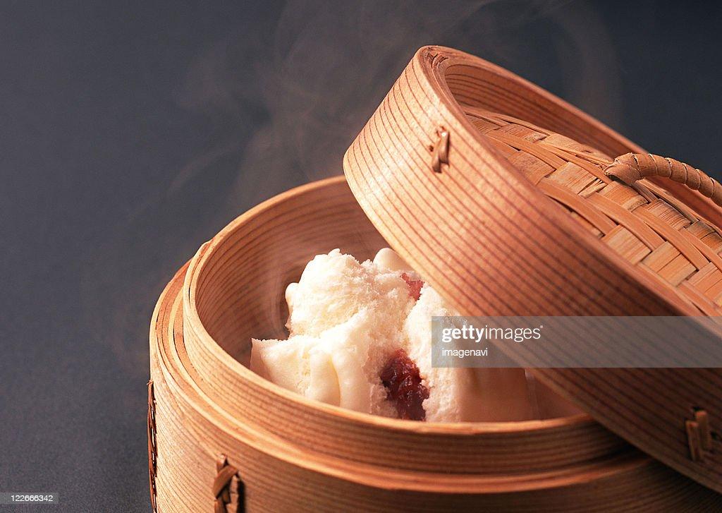 Chinese Bun : Stock Photo