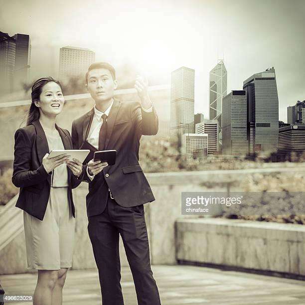 中国のビジネス人々