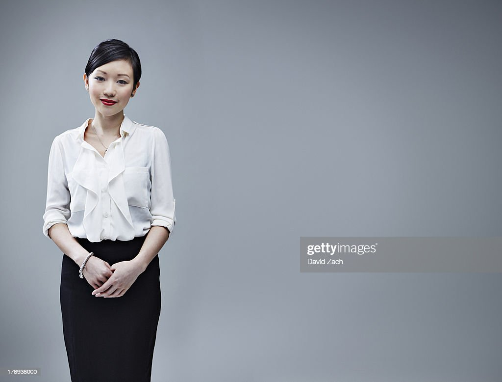 Chinese business woman, portrait