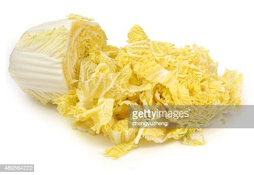 Chinese cabbage : Stock Photo