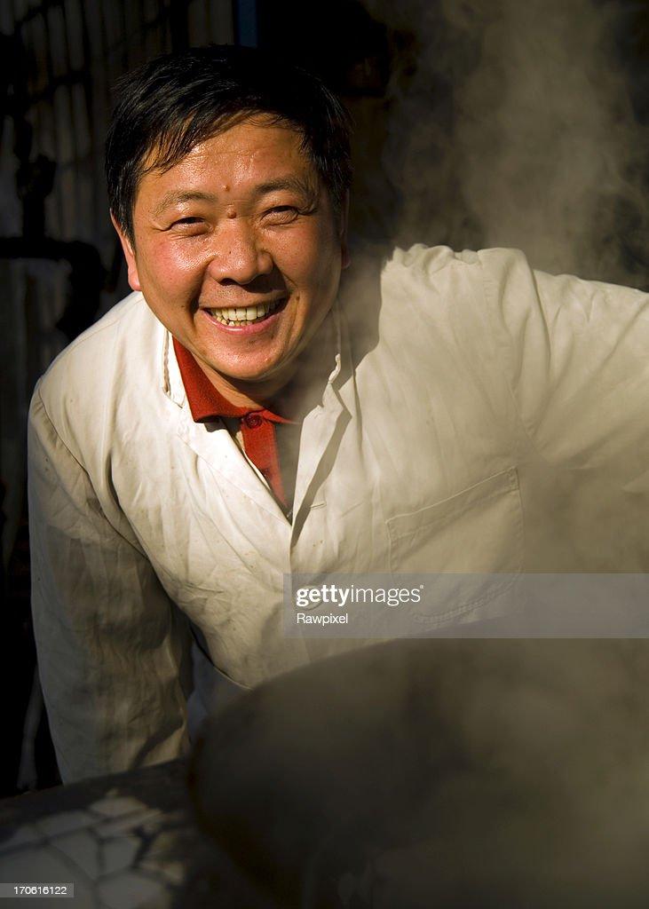 Chinese Chef : Stock Photo