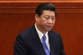 Chinese Communist Party chief and incomingPresident Xi Jinping attends the closing session of the annual Chinese People's Political Consultative...