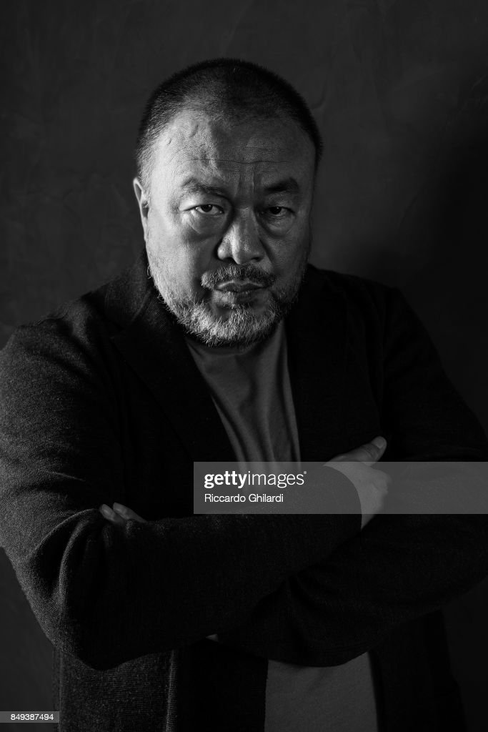 Chinese contemporary artist and activist Ai Weiwei is photographed for Self Assignment on August 30, 2017 in Venice, Italy. (Photo by Riccardo Ghilardi/Contour by Getty Images).