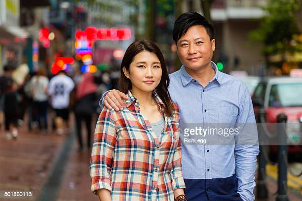 Chinese Couple in Hong Kong