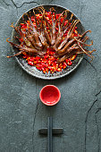 Chinese cuisine braised duck tongues