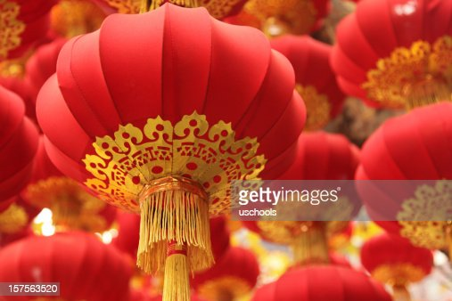 Chinese Culture: Festival Red Lanterns